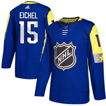 Adidas Sabres #15 Jack Eichel Royal 2018 All-Star Atlantic Division Authentic Stitched NHL Jersey