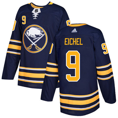 Adidas Sabres #9 Jack Eichel Navy Blue Home Authentic Youth Stitched NHL Jersey
