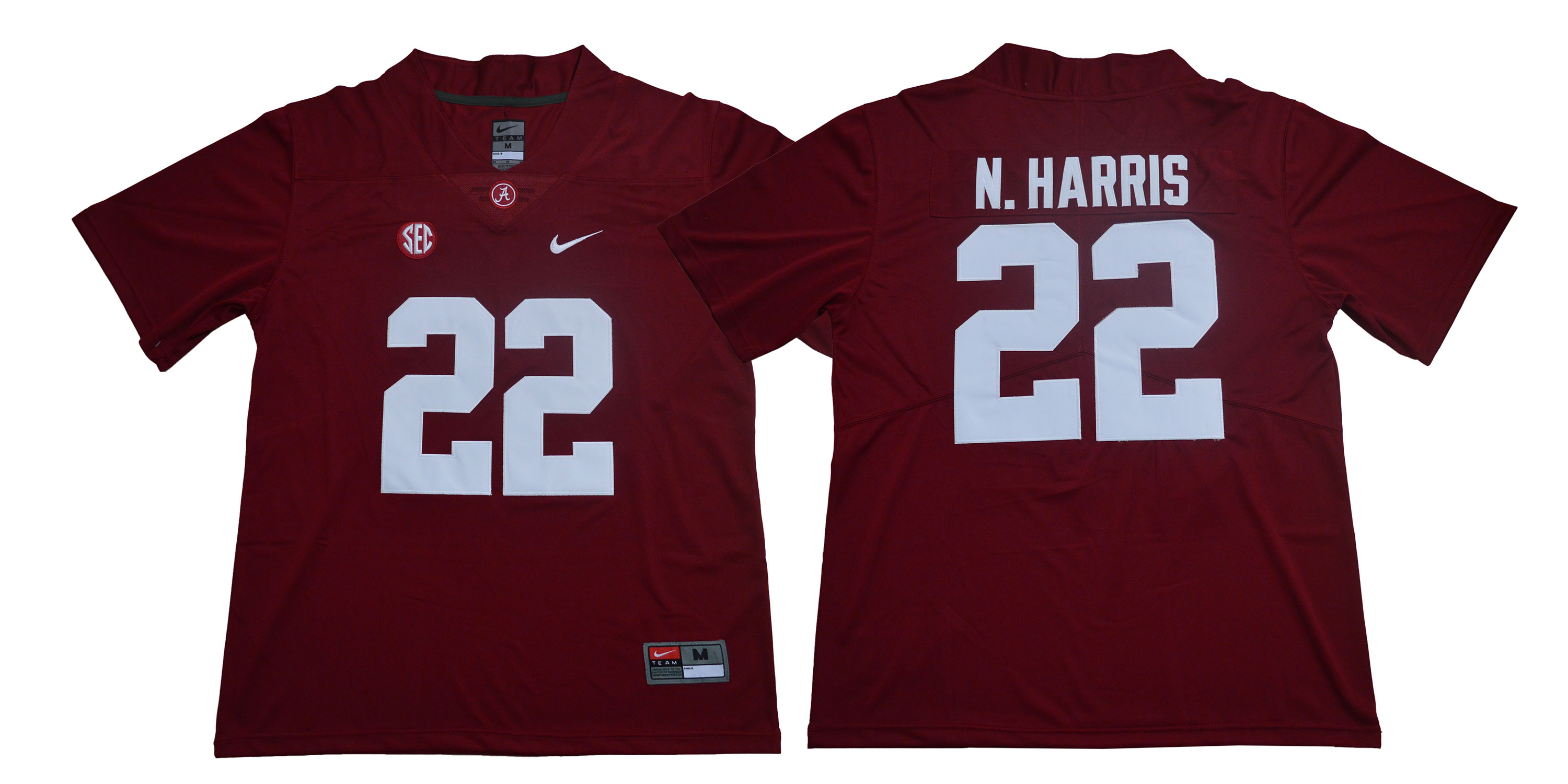 Alabama Crimson Tide 22 Najee Harris Red College Football Jersey