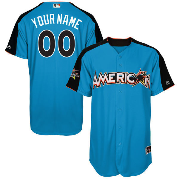 American League Men's 2017 All-Star Majestic Customized Jersey