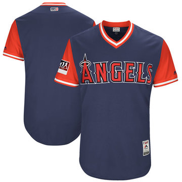Angels Navy 2018 Players' Weekend Authentic Team Jersey