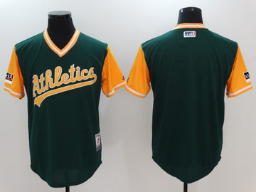 Athletics Green 2018 Players' Weekend Authentic Team Jersey
