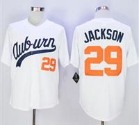 Auburn Tigers #29 Bo Jackson White Throwback Stitched NCAA Jersey