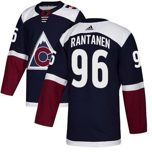 Avalanche #96 Mikko Rantanen Navy Alternate Authentic Stitched Hockey Jersey