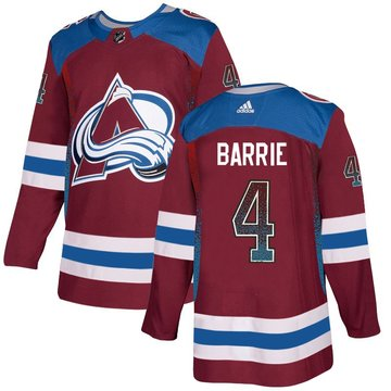 Avalanche 4 Tyson Barrie Red Drift Fashion Adidas Jersey