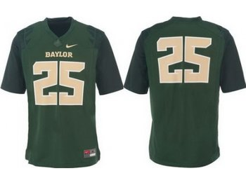 Baylor Bears 25 Lache Seastrunk Green College Football NCAA Jerseys