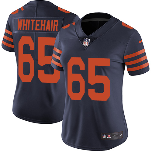 Bears #65 Cody Whitehair Navy Blue Alternate Women's Stitched Football Vapor Untouchable Limited Jersey