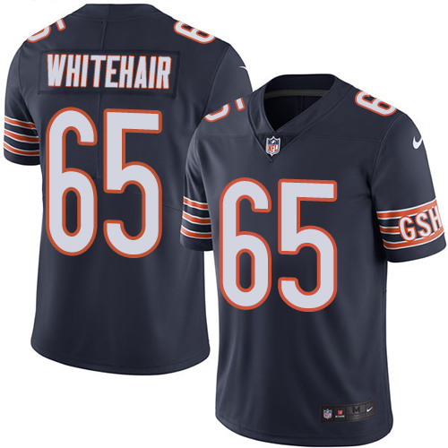 Bears #65 Cody Whitehair Navy Blue Team Color Men's Stitched Football Vapor Untouchable Limited Jersey