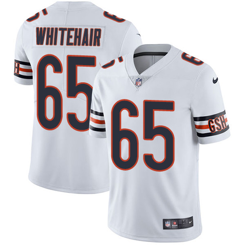 Bears #65 Cody Whitehair White Youth Stitched Football Vapor Untouchable Limited Jersey