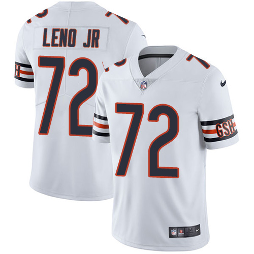 Bears #72 Charles Leno Jr White Youth Stitched Football Vapor Untouchable Limited Jersey