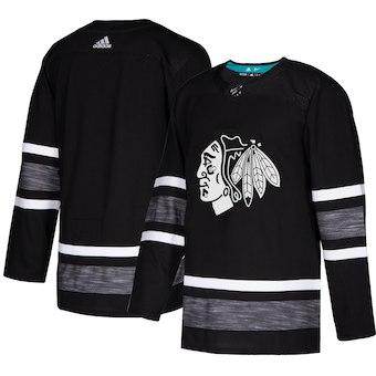 Blackhawks Black 2019 NHL All-Star Game Adidas Jersey