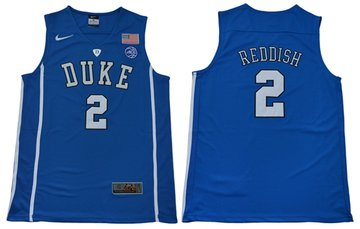 Blue Devils #2 Cameron Reddish Blue Basketball Elite Stitched NCAA Jersey