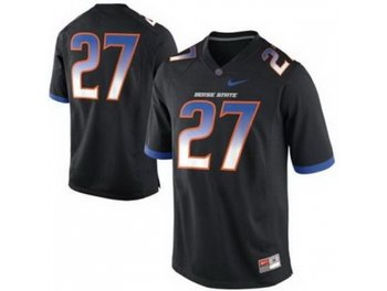 Boise State Broncos 27 Jay Ajayi Black College Football NCAA Jerseys