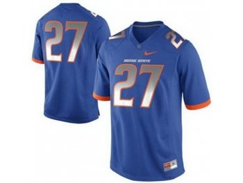 Boise State Broncos 27 Jay Ajayi Blue College Football NCAA Jerseys