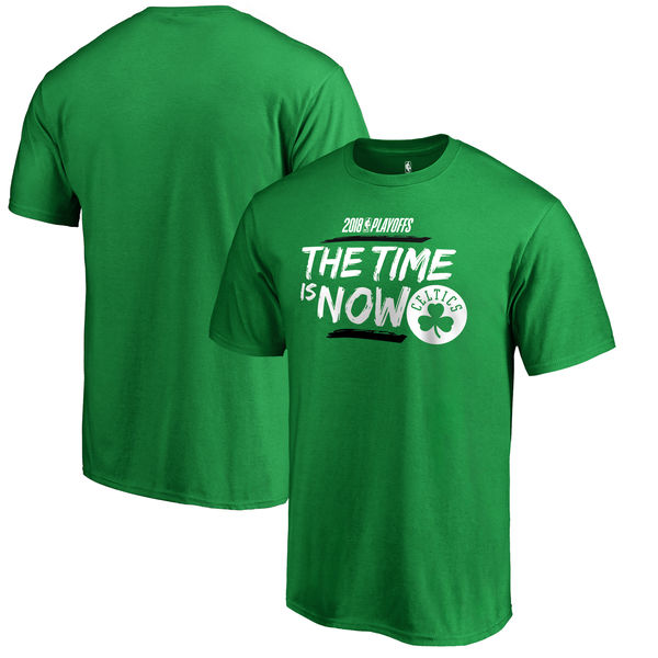 Boston Celtics Fanatics Branded 2018 NBA Playoffs Bet Slogan T-Shirt Kelly Green