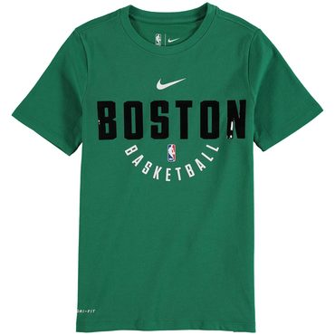 Boston Celtics Men Kelly Green Nike Elite Practice Performance T-Shirt