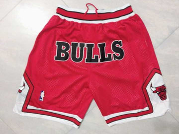 Bulls Red 1997-98 Limited Shorts
