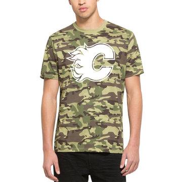 Calgary Flames '47 Alpha T-Shirt Camo