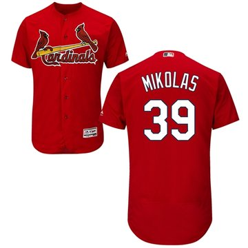 Cardinals #39 Miles Mikolas Red Flexbase Authentic Collection Stitched Baseball Jersey