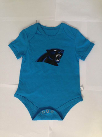 Carolina Panthers Newborn Creeper Set - Panther Blue