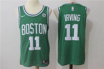 Celtics 11 Kyrie Irving Green Nike Jersey