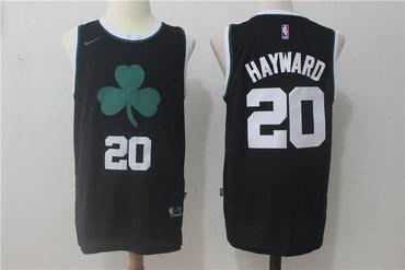 Celtics 20 Gordon Hayward Black Nike Jersey