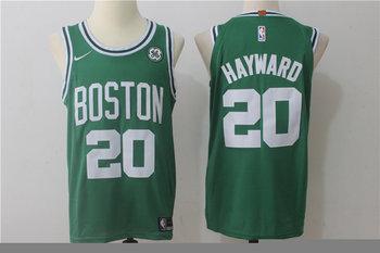Celtics 20 Gordon Hayward Green Nike Jersey
