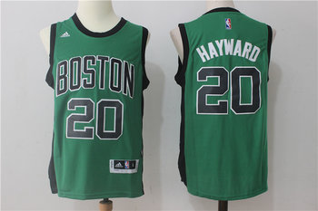 Celtics 20 Gordon Hayward Green Swingman Jersey