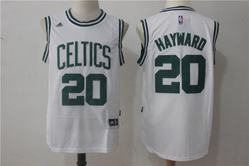 Celtics 20 Gordon Hayward White Swingman Jersey