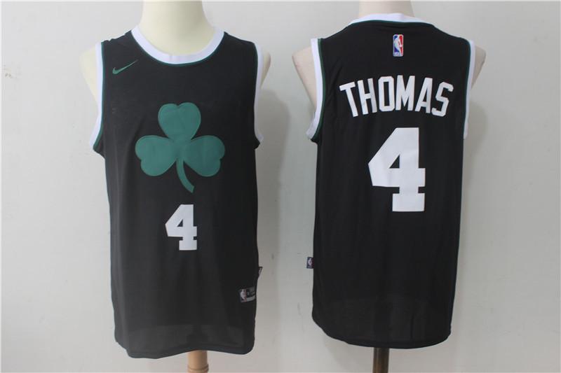 Celtics 4 Isaiah Thomas Black Nike Jersey