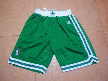 Celtics Green Mesh Throwback Shorts