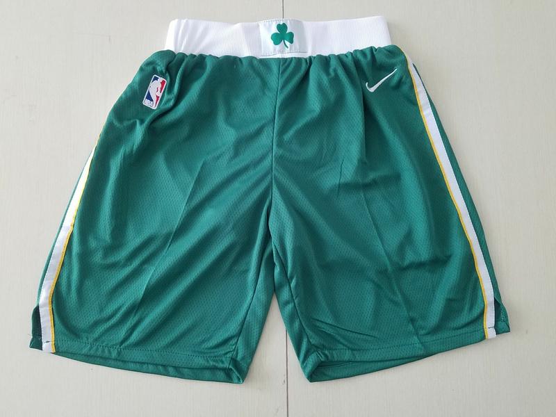 Celtics Green Nike Swingman Shorts