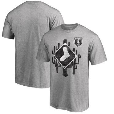 Chicago White Sox Fanatics Branded 2018 MLB Spring Training Vintage T Shirt Heather Gray
