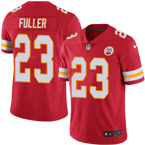 Chiefs #23 Kendall Fuller Red Team Color Men's Stitched Football Vapor Untouchable Limited Jersey