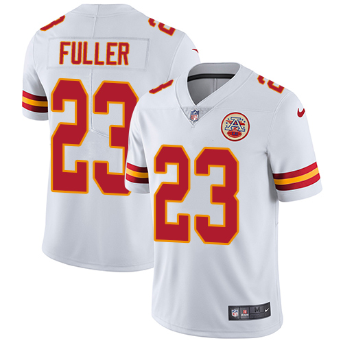 Chiefs #23 Kendall Fuller White Men's Stitched Football Vapor Untouchable Limited Jersey