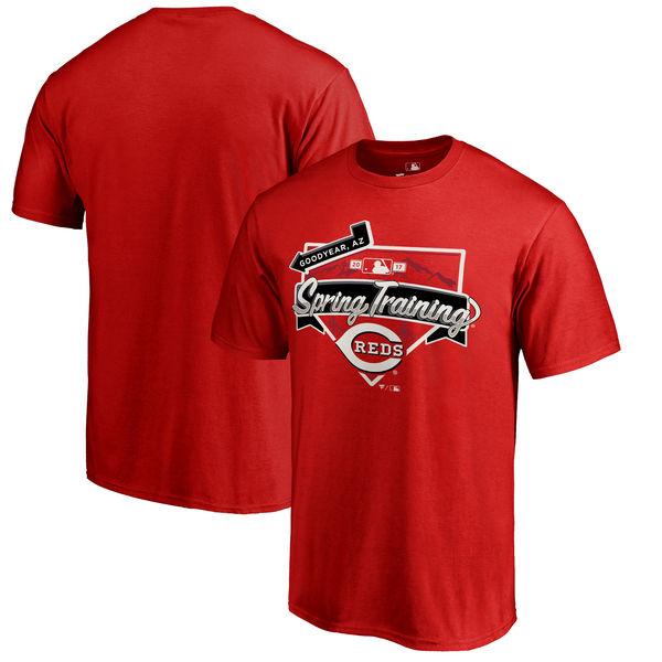 Cincinnati Reds Fanatics Branded 2017 MLB Spring Training Team Logo Big & Tall T Shirt Red