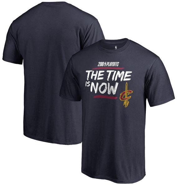 Cleveland Cavaliers Fanatics Branded 2018 NBA Playoffs Bet Slogan T-Shirt Navy