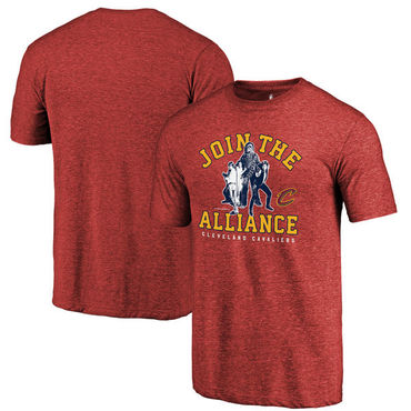 Cleveland Cavaliers Fanatics Branded Wine Star Wars Alliance Tri-Blend T-Shirt