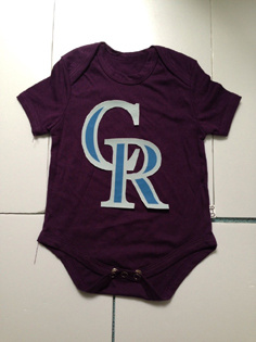Colorado Rockies MLB Kids Newborn&Infant Gear Purple