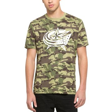 Columbus Blue Jackets '47 Alpha T-Shirt Camo