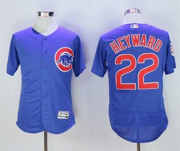 Cubs 22 Jason Heyward Royal Flexbase Jersey