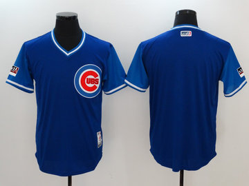 Cubs Royal 2018 Players' Weekend Authentic Team Jersey