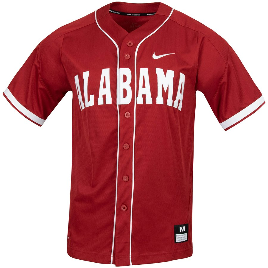 Custom Alabama Crimson Tide Crimson College Baseball Jersey
