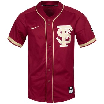 Custom Florida State Seminoles Red College Baseball Jersey