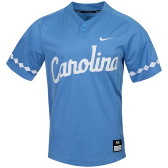 Custom North Carolina Tar Heels Carolina Blue College Baseball Jersey