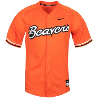 Custom Oregon State Beavers Orange College Baseball Jersey