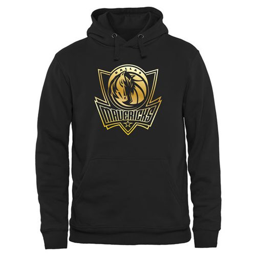 Dallas Mavericks Gold Collection Pullover Hoodie Black