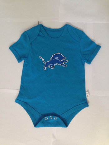 Detroit Lions Infant TD Creeper Set - Light Blue