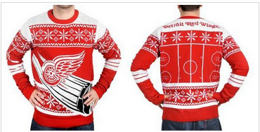 Detroit Red Wings Men's NHL Ugly Sweater