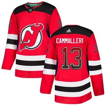 Devils 13 Mike Cammalleri Red Drift Fashion Adidas Jersey